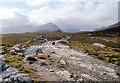 NH1082 : The vista opens above Gleann Chaorachain by Alan Reid