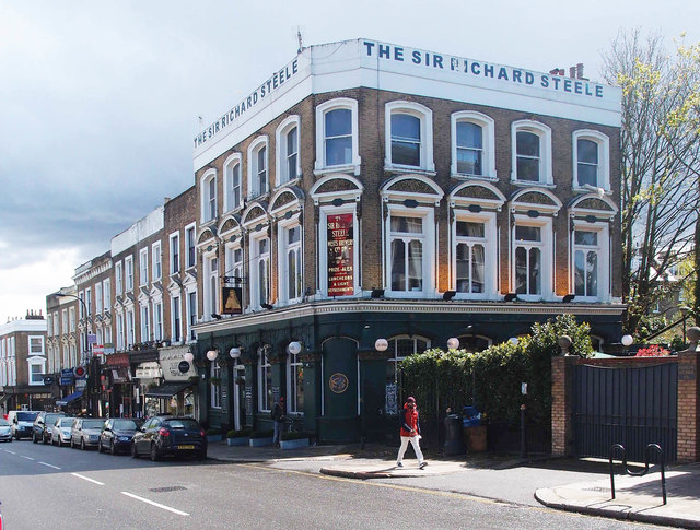 """""""The Sir Richard Steele"""" public house, Haverstock Hill"""