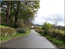 NS3478 : Darleith Road looking south towards Kirkton by Elliott Simpson