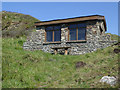 SS2117 : Ronald Duncan's Hut on the South West Coast Path by Roger  Kidd