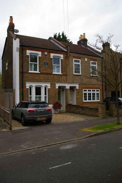 Childhood home of Enid Blyton, Chaffinch Road, Beckenham