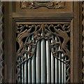SO2459 : Organ, Church of St Stephen, Old Radnor by Alan Murray-Rust