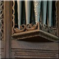 SO2459 : Organ, Church of St Stephen, Old Radnor by Alan Murray-Rust
