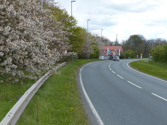 A57 Gainsborough Road near Saxilby