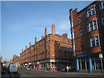 NS5566 : Tenements, Dumbarton Road by Jonathan Thacker