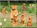 SP9311 : The Three Bears came to Tring for the May Bank Holiday by Chris Reynolds