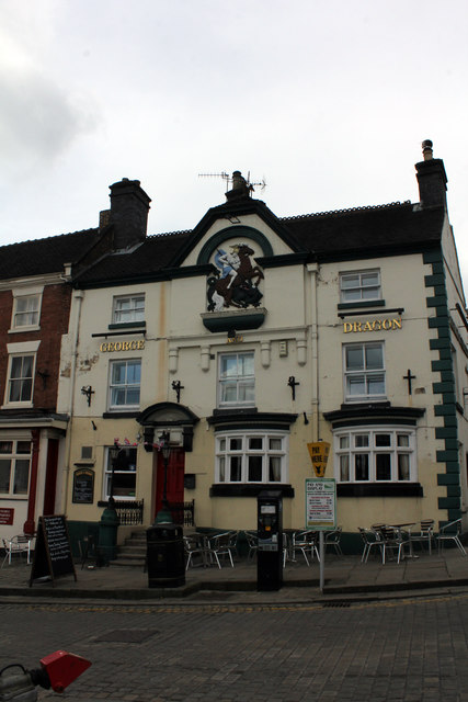 George and Dragon, 43 Market Place, Ashbourne