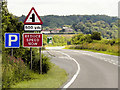 SK9352 : Eastbound A17 Approaching Layby by David Dixon