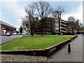SO8318 : Grassy area at the northern end of Market Parade, Gloucester by Jaggery