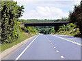 SK9551 : Eastbound A17, Cliff Road Bridge by David Dixon