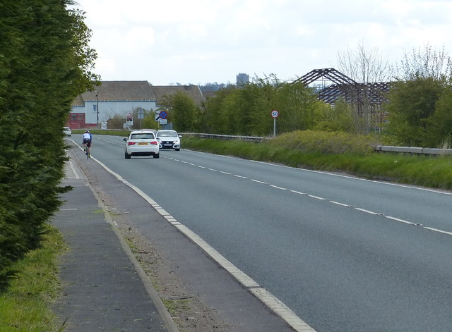 A57 Lincoln Road at Saxilby