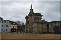 SX4653 : Royal William Victualling Yard - Main Gate by N Chadwick