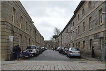 SX4653 : Royal William Victualling Yard - passage by N Chadwick