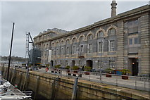 SX4653 : Royal William Victualling Yard - Mill & Bakery by N Chadwick