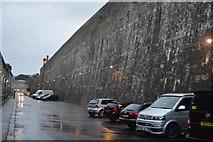SX4653 : Royal William Victualling Yard - wall by N Chadwick