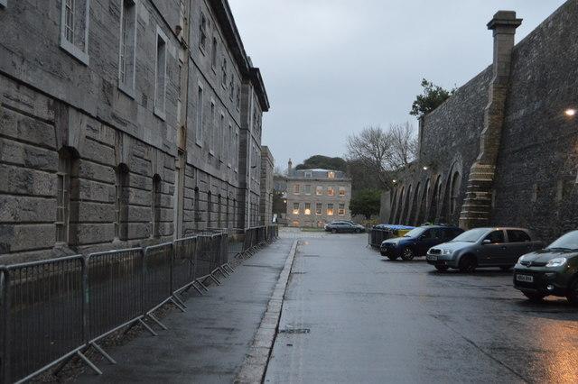 Royal William Victualling Yard - wall