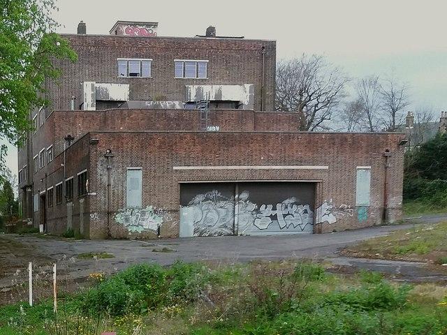 Derelict building in Chapel Allerton