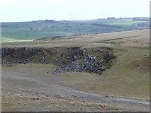 NZ0392 : Greenleighton Quarry by Russel Wills
