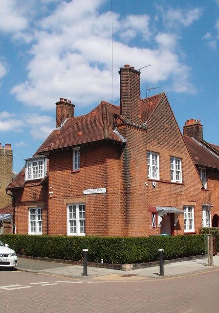 Corner house, Tower Gardens Estate, Tottenham