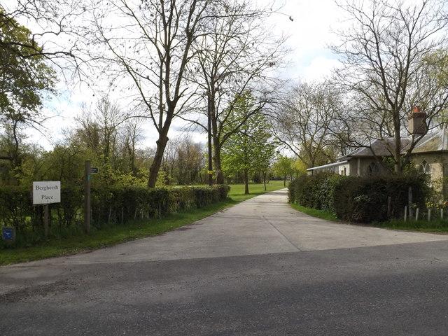 Berghersh Lane Byway to Ashbocking Road