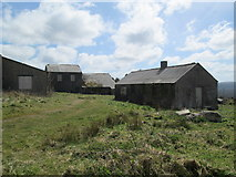 SW9462 : Wolfram mine buildings, Castle-an-Dinas by David Weston
