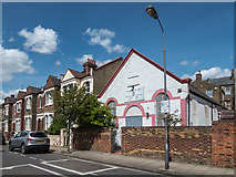 TQ2282 : Chapel, Trenmar Gardens, London NW10 by Christine Matthews