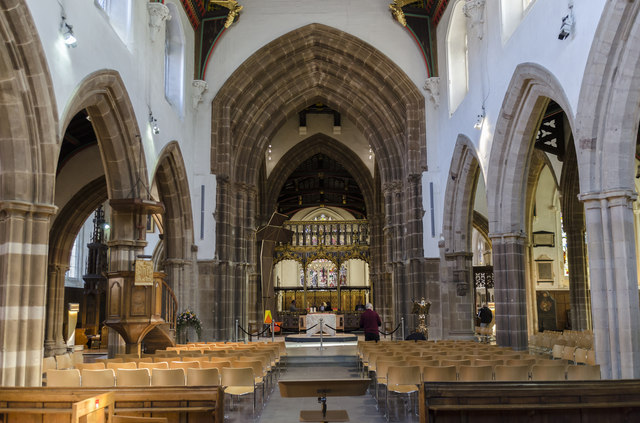 Interior, Leicester Cathedral