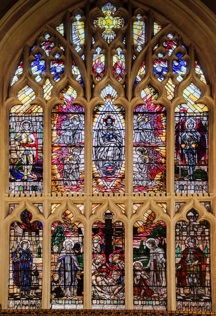 East Window, Leicester Cathedral