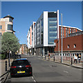 SK5640 : Shakespeare Street and parts of Nottingham Trent University by John Sutton