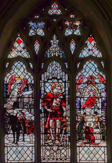 St Martin window, Leicester Cathedral