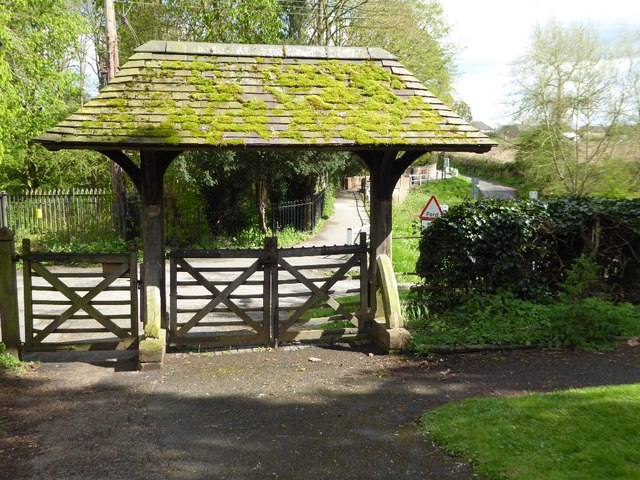 Lychgate at Kempsey church