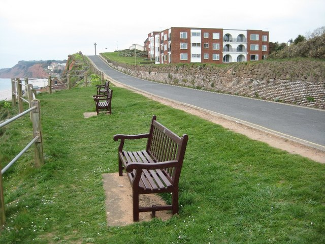 Seats on the seafront