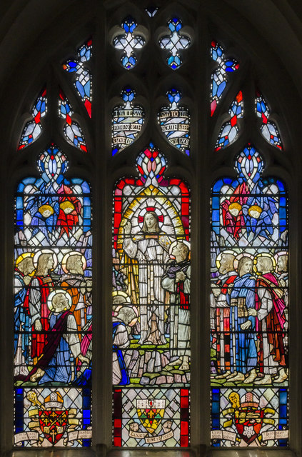 Bardsley Memorial Window, Leicester Cathedral