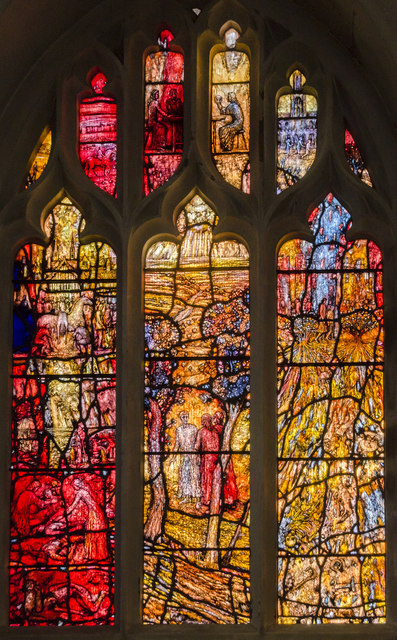 Richard III window (west), Leicester Cathedral