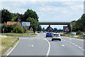 TF0945 : Mount Lane Bridge over the A17 near to Kirkby la Thorpe by David Dixon