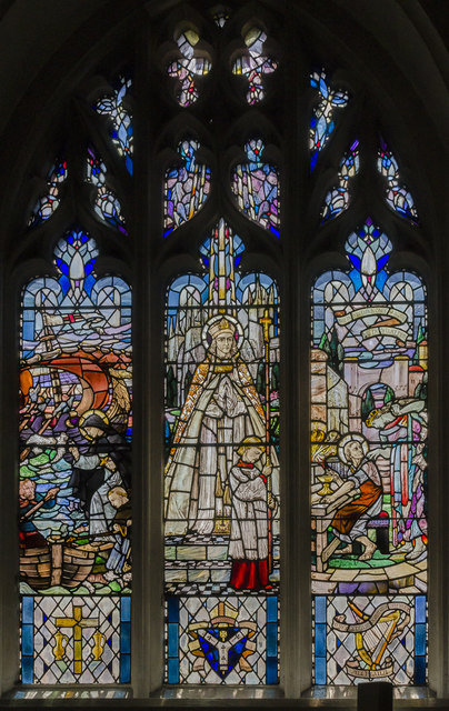 St Dunstan window, Leicester Cathedral