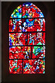 SU8504 : Stained glass window, Chichester Cathedral by Julian Osley