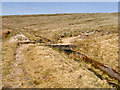 SD9616 : Stone Bridge over Broad Head Drain, Blackstone Edge Moor by David Dixon