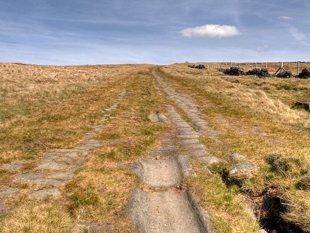 'Roman' Road over Blackstone Edge