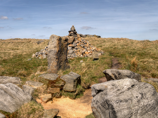 Aiggin Stone and Cairn