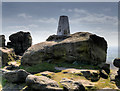 SD9716 : Blackstone Edge Trig Pillar by David Dixon