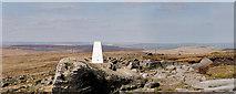 SD9716 : Pennine Way, Blackstone Edge Summit by David Dixon