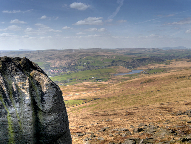 View from Summit of Blackstone Edge