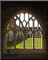 SU8504 : Cloister window, Chichester Cathedral by Julian Osley