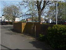 SU6351 : Edge of Southern Road car park by Sandy B