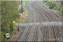 J2463 : Proposed park and ride, Knockmore, Lisburn - May 2016(2) by Albert Bridge