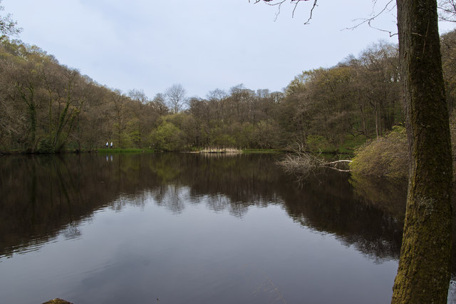 The pool above Calder Vale