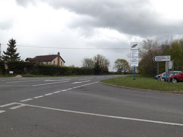 B1078 Swilland Road, Ashbocking
