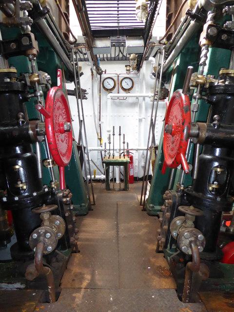 Steam tug Daniel Adamson