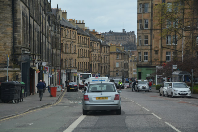 Edinburgh : Bruntsfield Place, A702